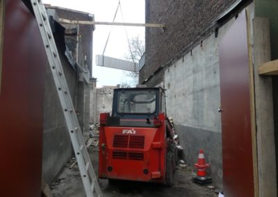 Travaux Logisourds Liège