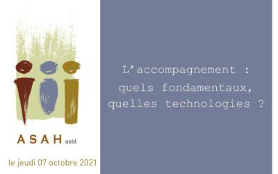 ASAH: journée de formation et d'échanges le jeudi 07 octobre 2021